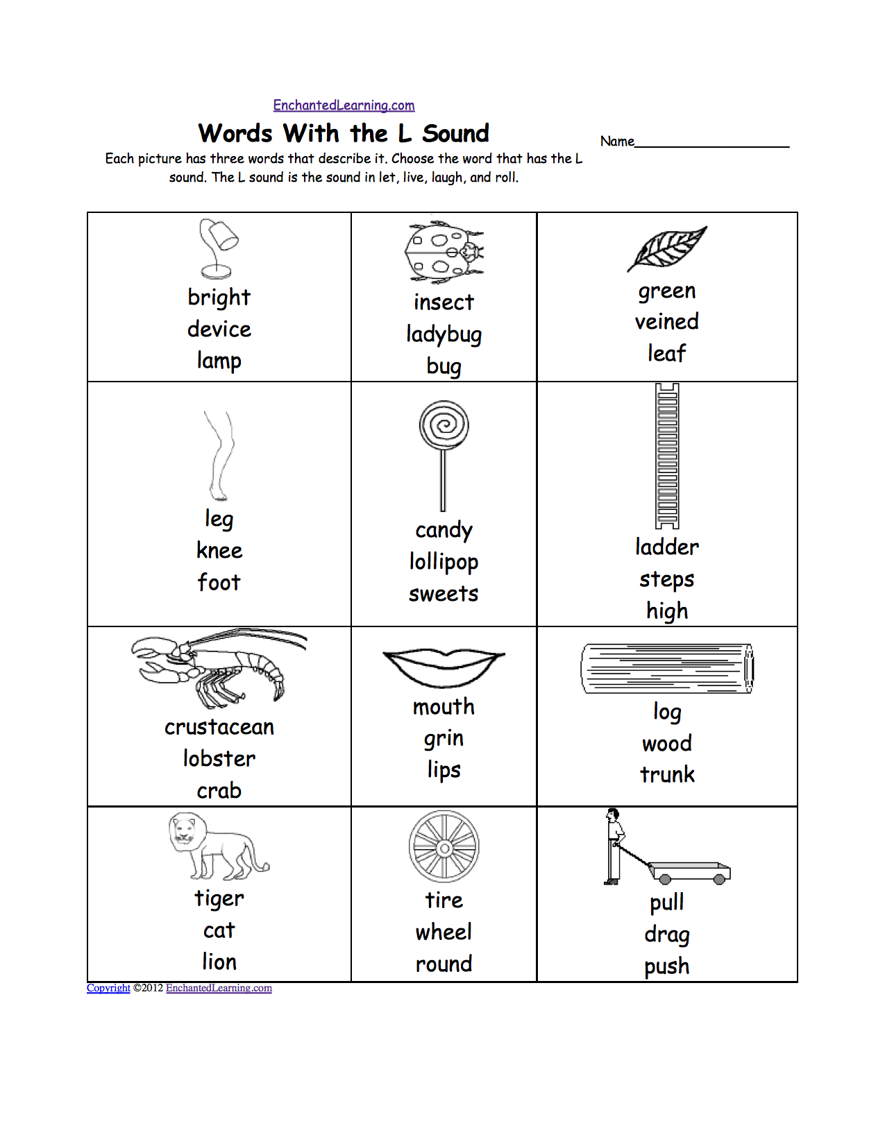 Letter Vowel Sound Worksheet For Kindergarten