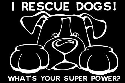 I Rescue Dogs Paws Decal Dog Rescue Dog Quotes Rescue Dogs Dog Adoption Quotes