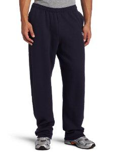 Champion Men's Open Bottom Eco Fleece Sweatpant, Navy, X-Large -   - http://sportschasing.com/sports-outdoors/champion-men39s-open-bottom-eco-fleece-sweatpant-navy-xlarge-com/