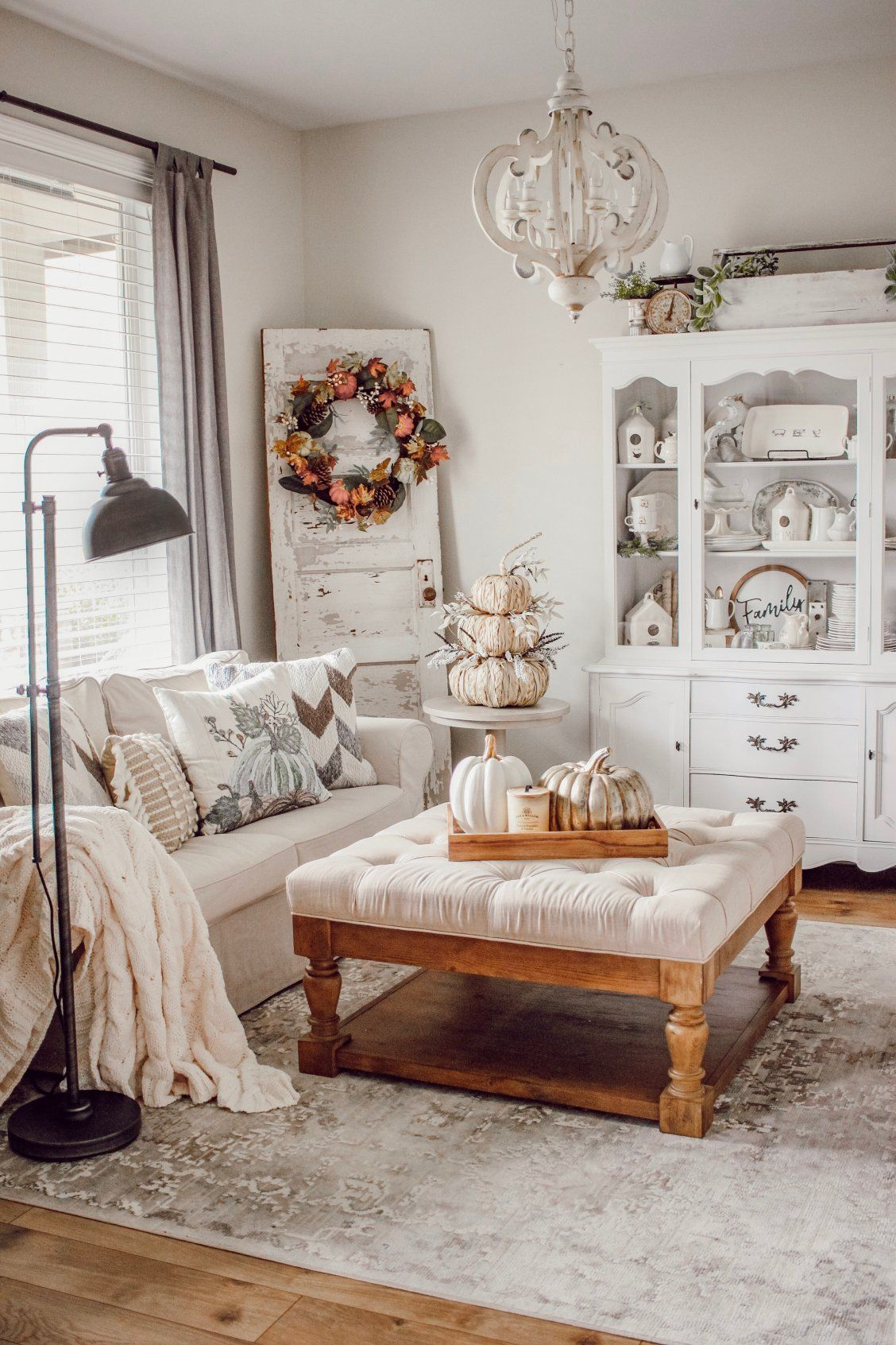 A Cozy Cottage Fall Refresh With Bed Bath Beyond Rain And Pine Fall Home Decor Cozy Cottage Autumn Home