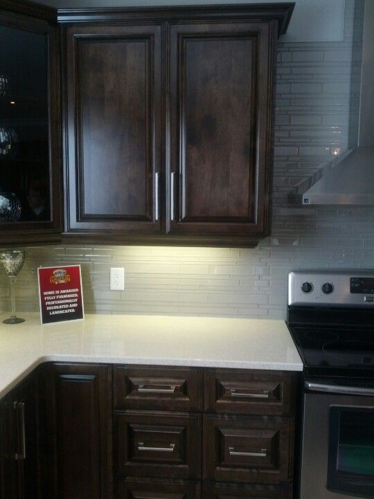 Dark Gray Kitchen Cabinets With Light Gray Walls Dark Cabinets, Light Counters. Light Grey Walls With Clear