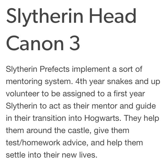 Slytherin Head Canon 3 Harry Potter Headcannons Slytherin Harry Potter Jokes