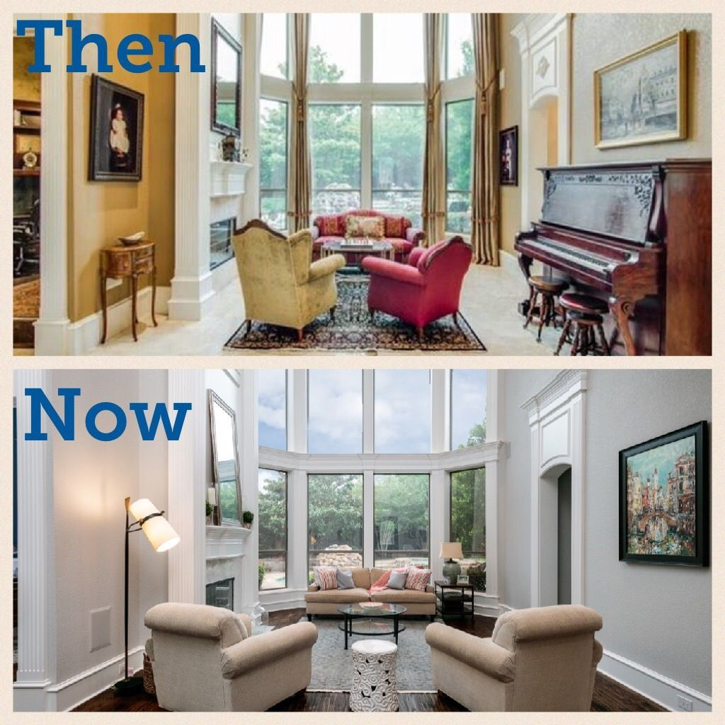Southlake Texas home updated with Sherwin Williams Agreeable Gray and neutral furniture. #sherwinwilliamsagreeablegray Southlake Texas home updated with Sherwin Williams Agreeable Gray and neutral furniture. #sherwinwilliamsagreeablegray