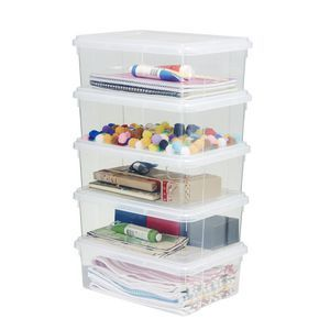 Ezy Storage 10l Storage Containers 5 Pack Storage Tubs Plastic Container Storage Storage