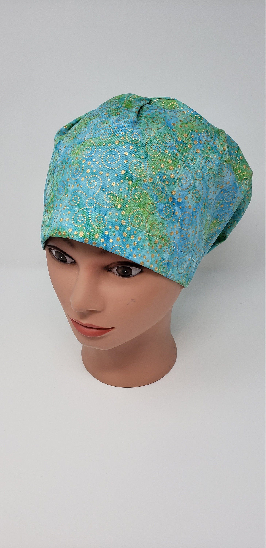 Golden Ladies Scrub or Chemo Hat
