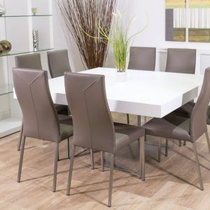 Round Dining Room Tables Seats 8 Alliancemv For Dimensions 1280 X 780 Square Pedestal Table Making The Option Of A Brand New Roo