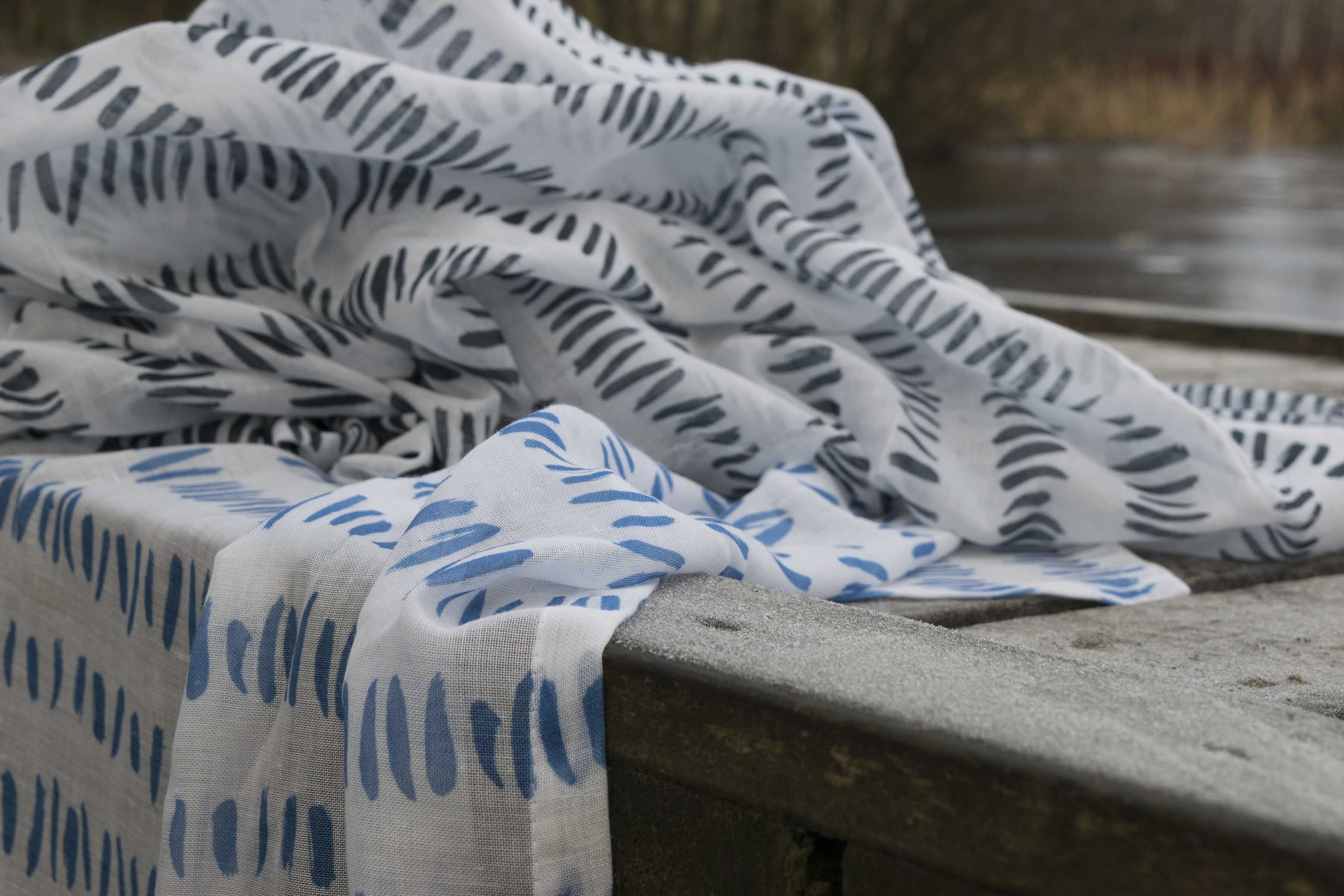 Design Strimma By Essy Winnerholt. Comes in 3 m width and is reversible.