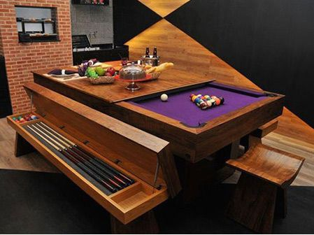 Ordinaire Convertible Pool Table.