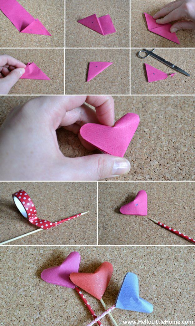 Origami Puffy Heart Bouquet Valentines Day Gifts From Bambeco