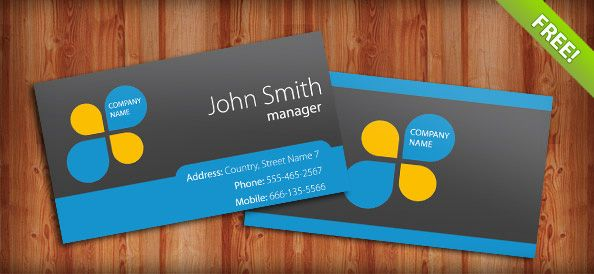 Simple Free Creative Business Card Templates Available For