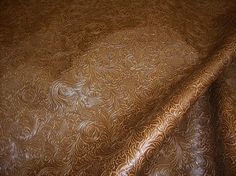 Western Upholstery Fabric Simple Embossed Leather Upholstery Fabric