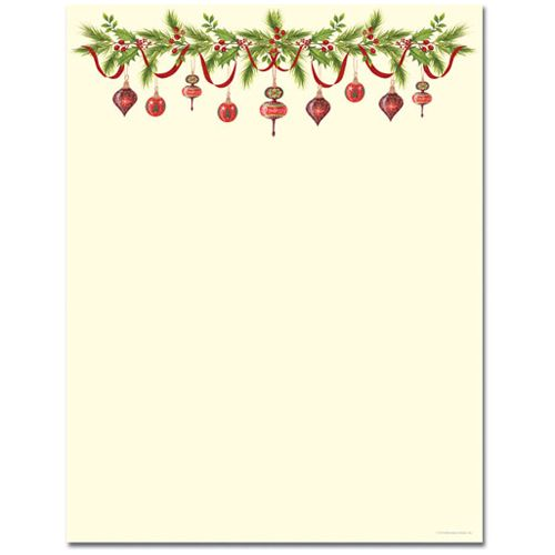 Free Printable Christmas Borders - Best Template Collection ...