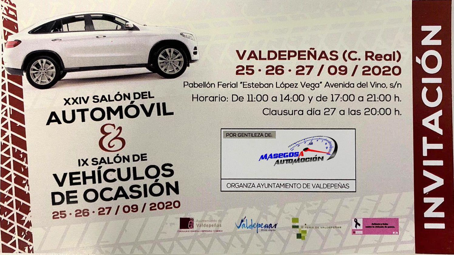Xxiv Salon Del Automovil Ix Salon De Vehiculos De Ocasion 25 26 27 Septiembre Si Las Circunstancias Nos Lo Permiten Al Vehiculos Automocion Automoviles