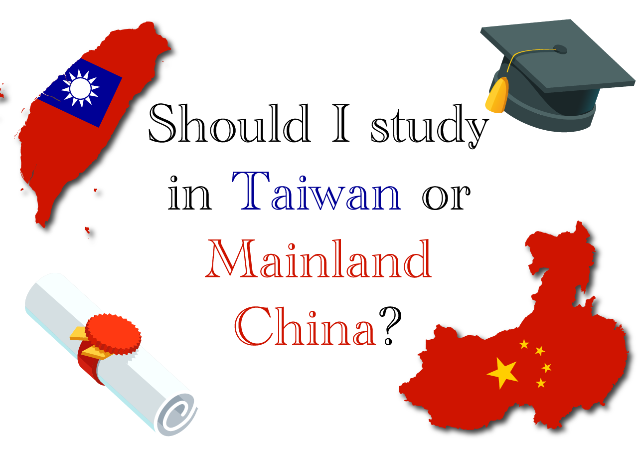 Study abroad China vs  Taiwan? Pros and Cons