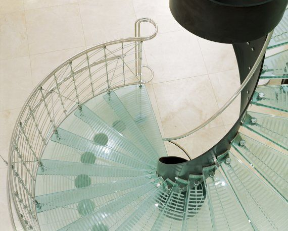 Interiors Contemporist Glass Staircase Staircase Glass Stairs