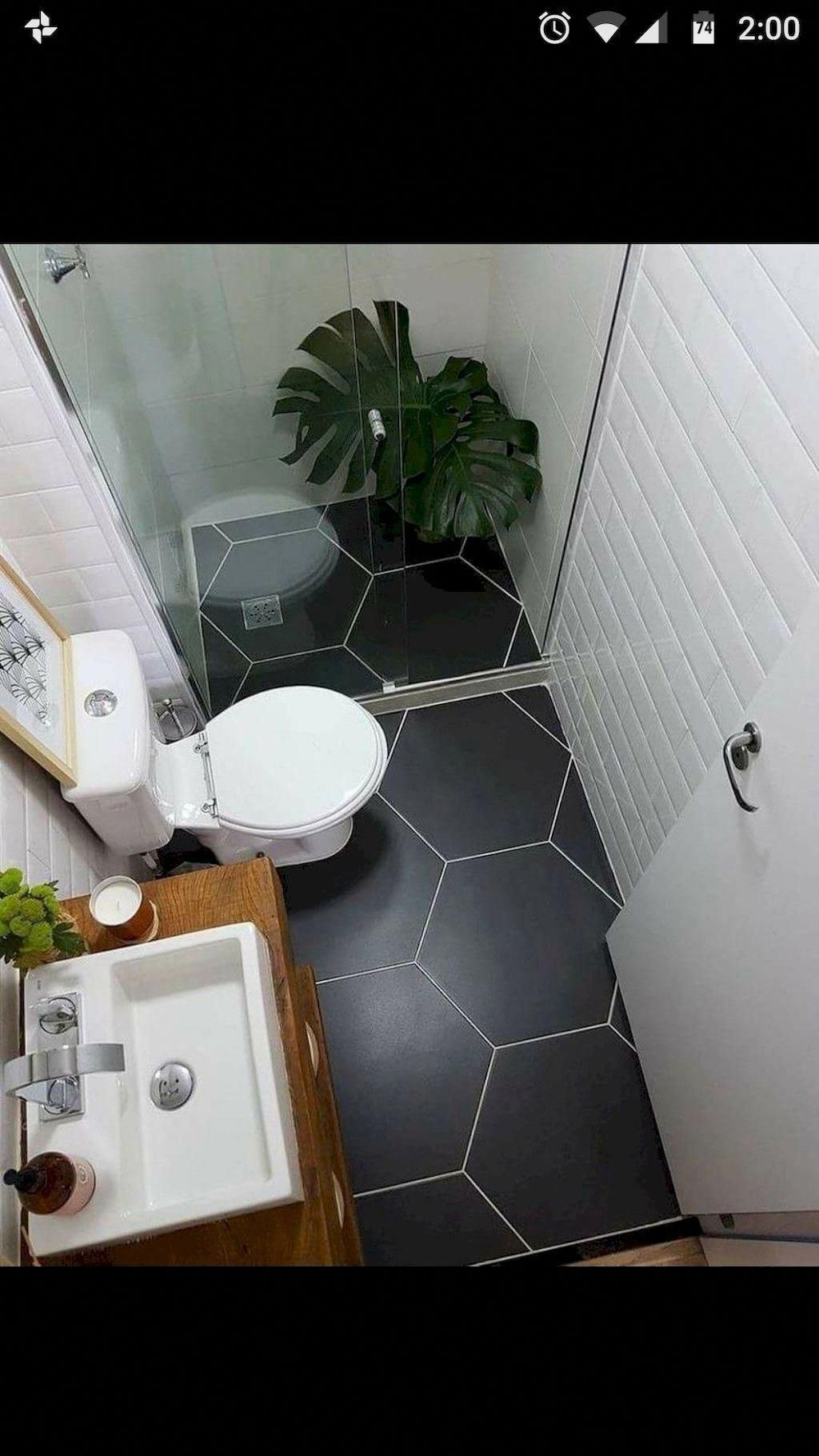Must See Bathroom Tiles Ideas How To Configure It In Small Space Small Bathroom Tiles Bathroom Remodel Designs Small Space Bathroom