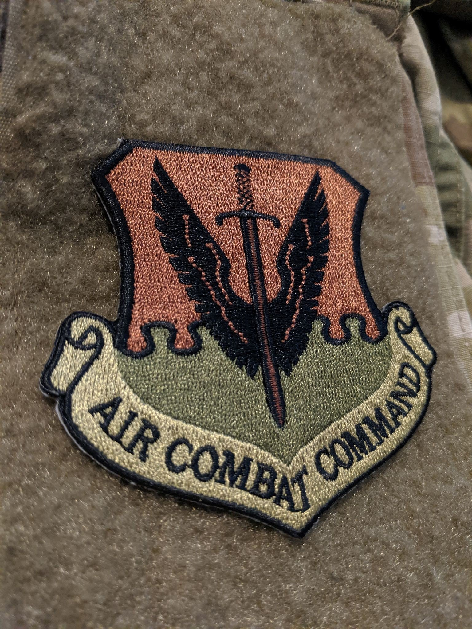 Air Combat Command Patch OCP Patches, Cyber