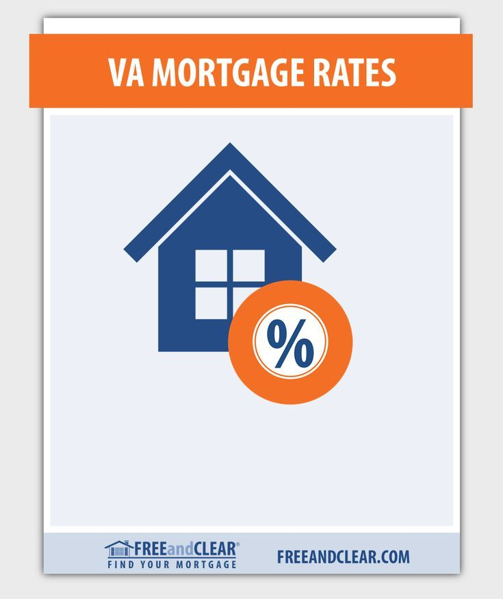 Current va mortgage rates va loan rates freeandclear