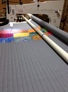 Blog - Don't forget about straight line quilting …