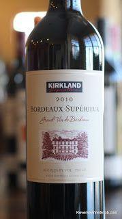 Kirkland Signature Bordeaux Superieur A Bordeaux Bargain From
