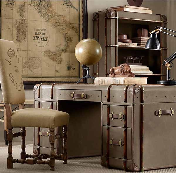 Vintage Furniture And Decorative Accessories From Restoration Hardware, Retro  Furniture Design