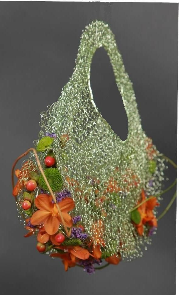 Bolso floral design by Rosa Valls