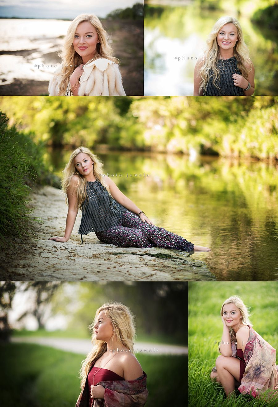 senior girl, senior girl water, creek, lake, artistic senior ...