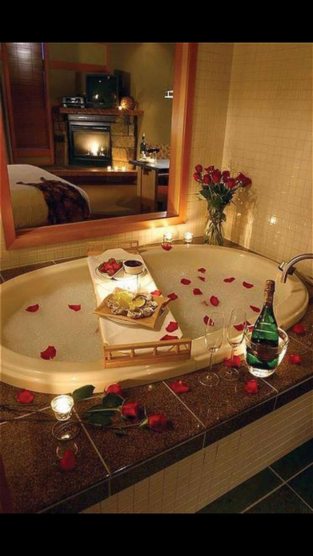 romantic bathtub ideas - 640×1136