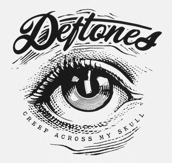 Deftones! Love the script. Might be my next tattoo.