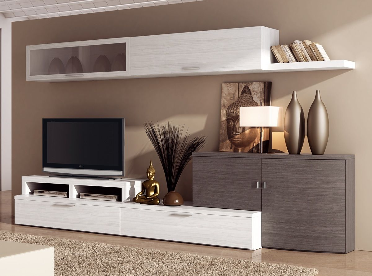 Fresno home theater pinterest sal n sal n moderno y - Mueble tv moderno ...
