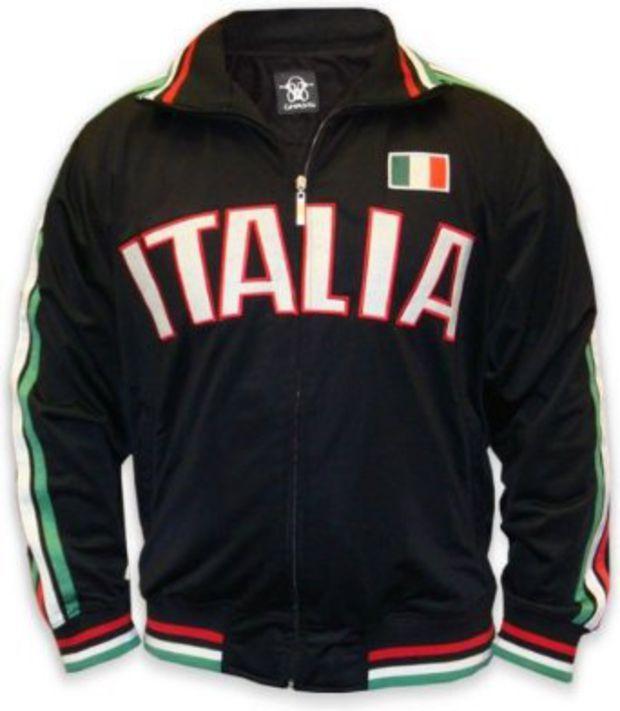 Amazon.com  International Soccer Track Jackets -- Italy
