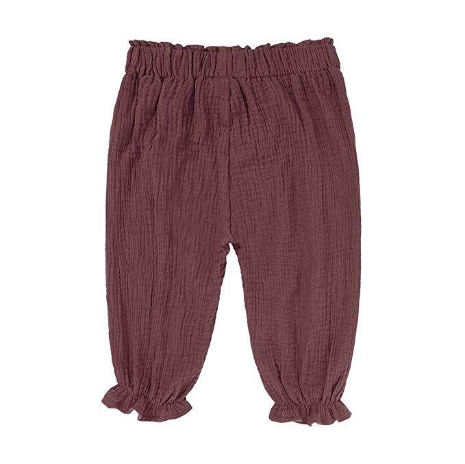 354bd4eea Kids Tales Unisex Baby Girls Boys Cotton Linen Blend Ruffle Bloomer Pants