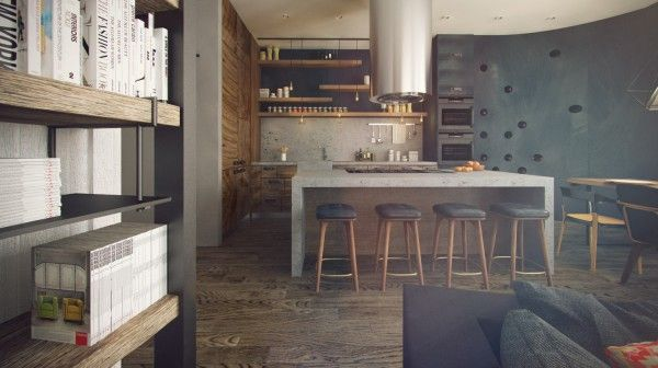 Classy Studios with Subtle, Stylish Accents | Kitchen Designs ...