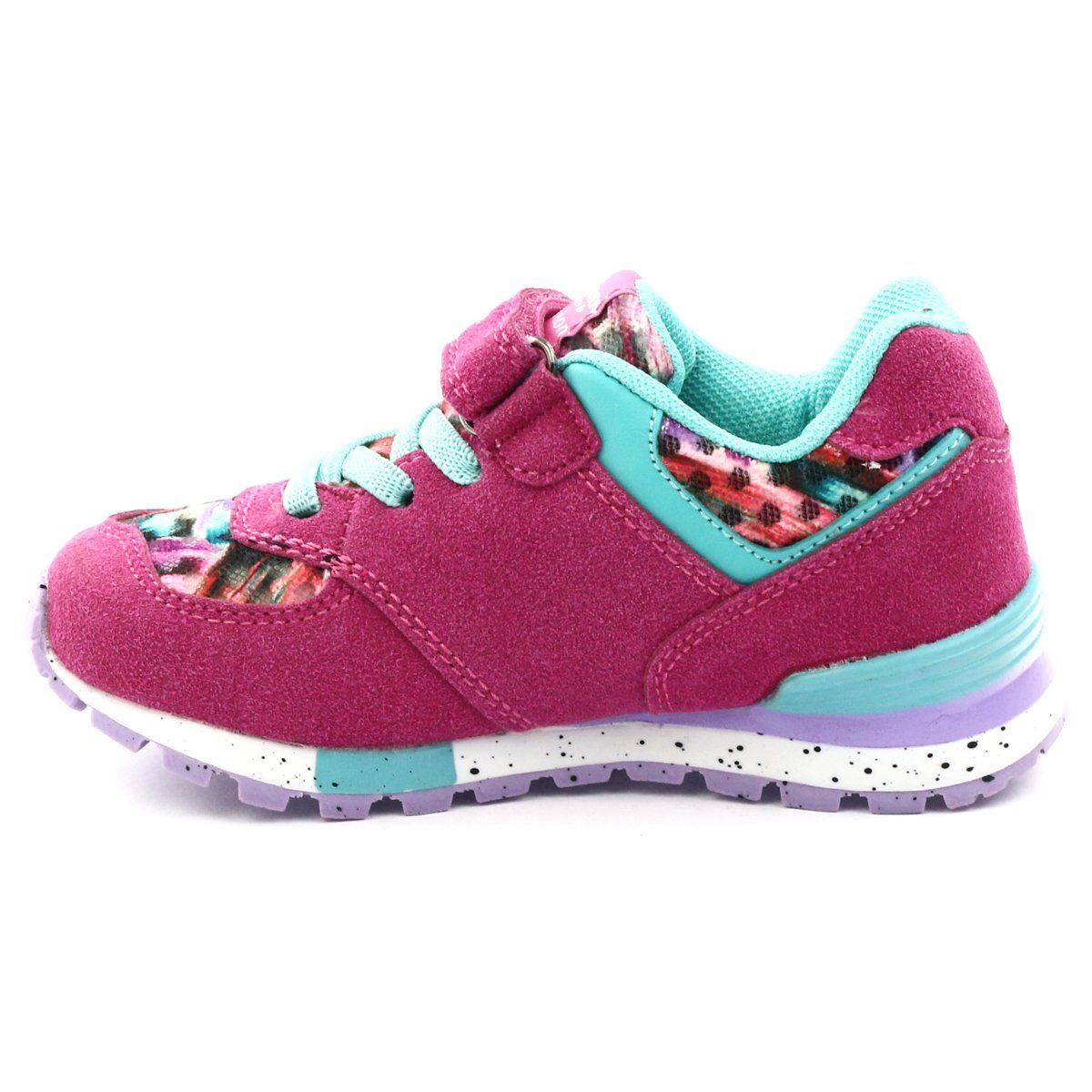 American Club Buty Sportowe Rozowe American 15110 Fuksja Wielokolorowe Shoes Winter Shoes Sneakers