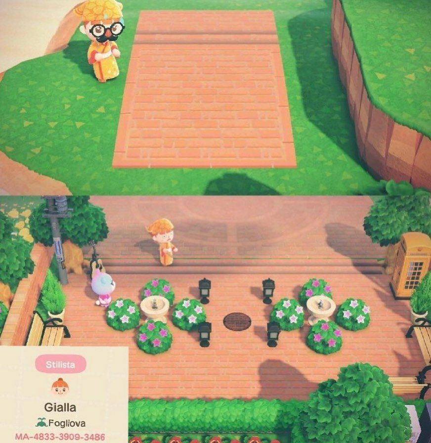 Animal Crossing On Instagram The First One Is Useful If You Want A Bigger Plaza In 2020 Animal Crossing Wild World Animal Crossing Memes New Animal Crossing