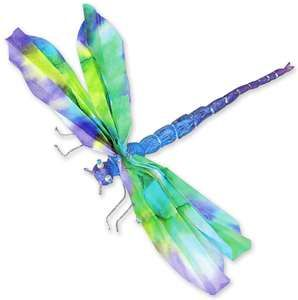 I like the colors being used here... note the purple along the wings fading into blue and the green fading into yellow.