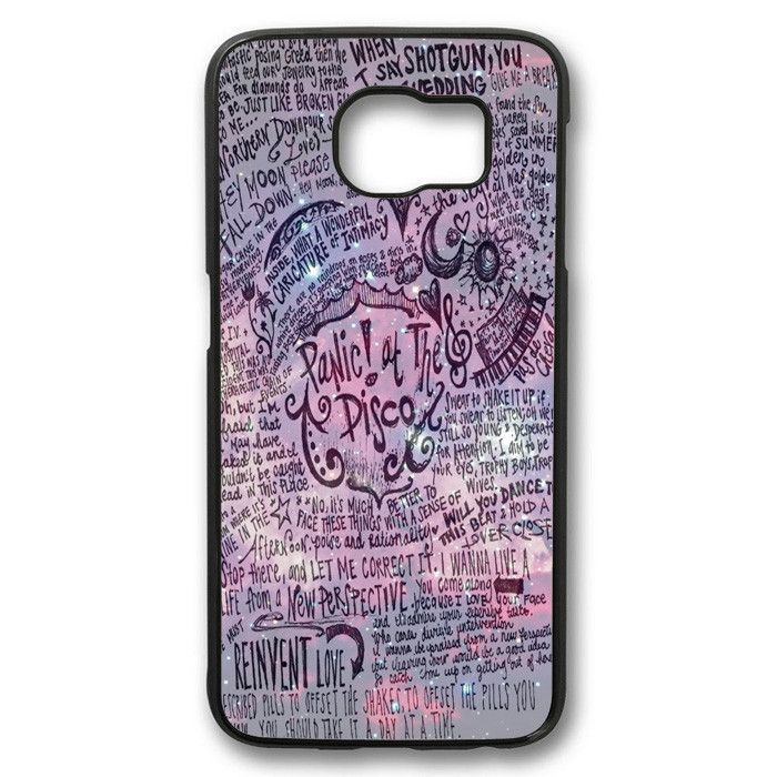 Panic At The Disco Lyric Samsung Galaxy S6 case