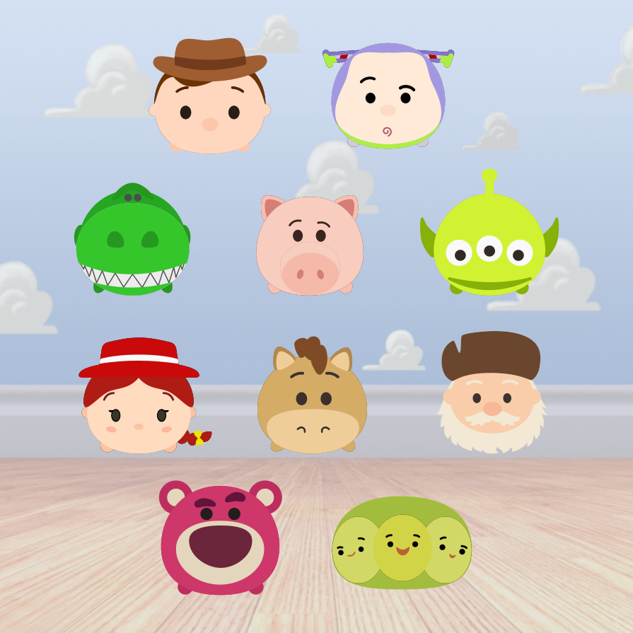Toys wallpaper images  Krafty Nook Tsum Tsum  Toy Story Fan Art  abc  Pinterest  Toys