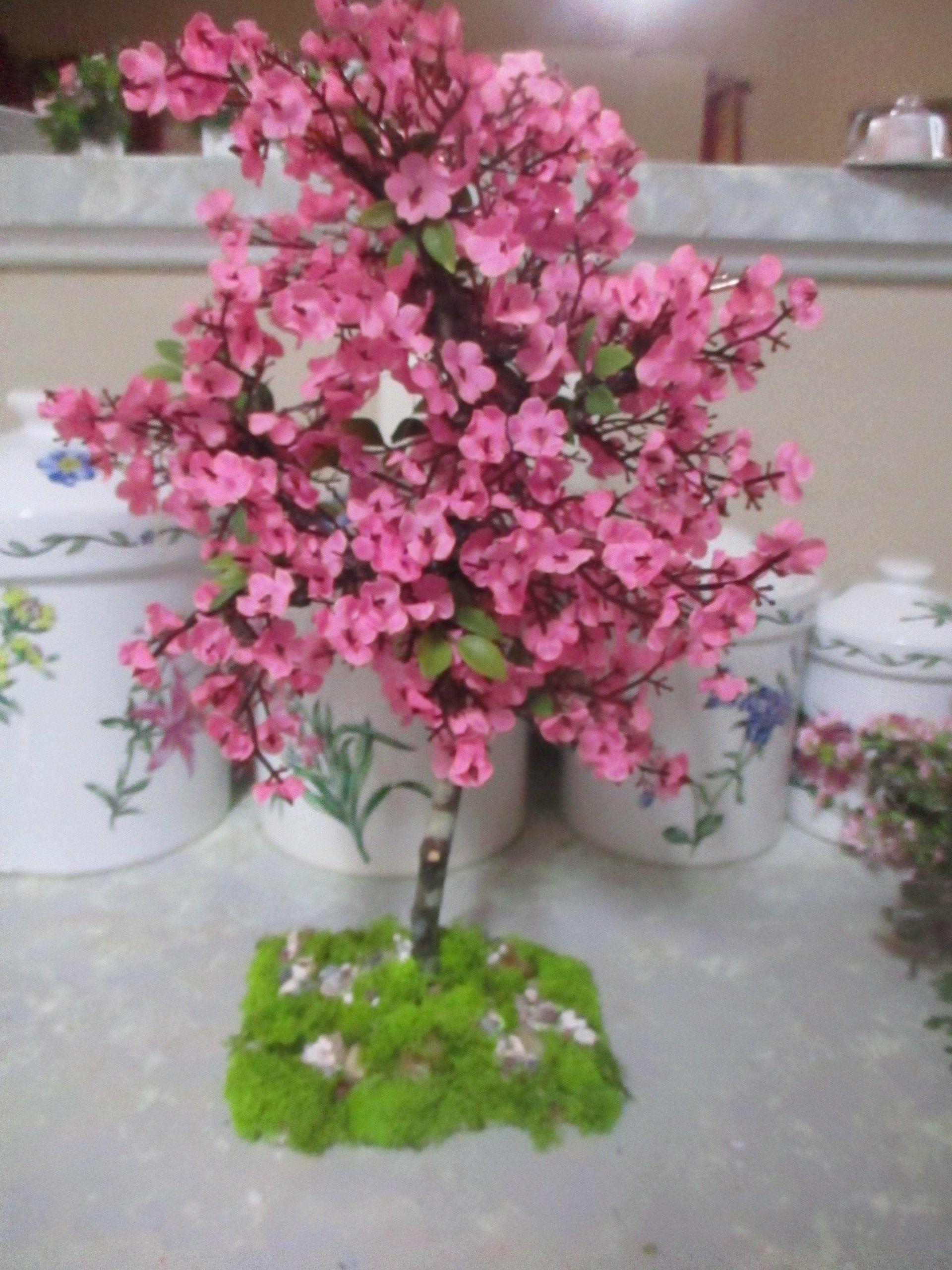 Ooak Miniature 13 1 2h Large Doll Dollhouse Japanese Etsy In 2021 Cherry Blossom Tree Japanese Cherry Blossom Blossom Trees