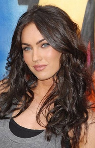 Long Dark Brown Hairstyle For Homecoming And Prom Hairstyles - Long dark brown hairstyle