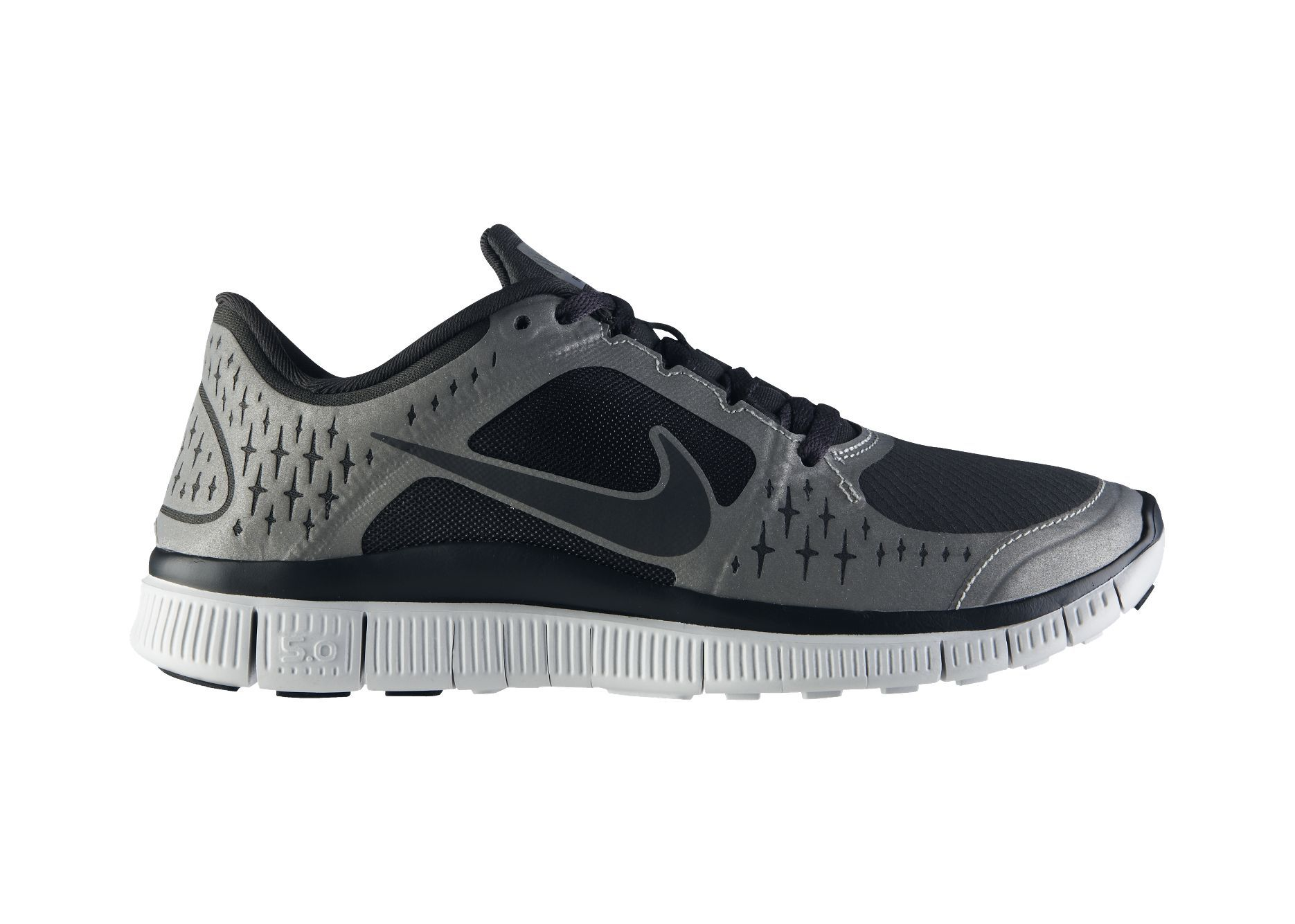 70f1644d7bf74 HAVE  Nike Free Run 3 Shield Women s Running Shoe   Anthracite Anthracite-Reflective Silver-Pure Platinum