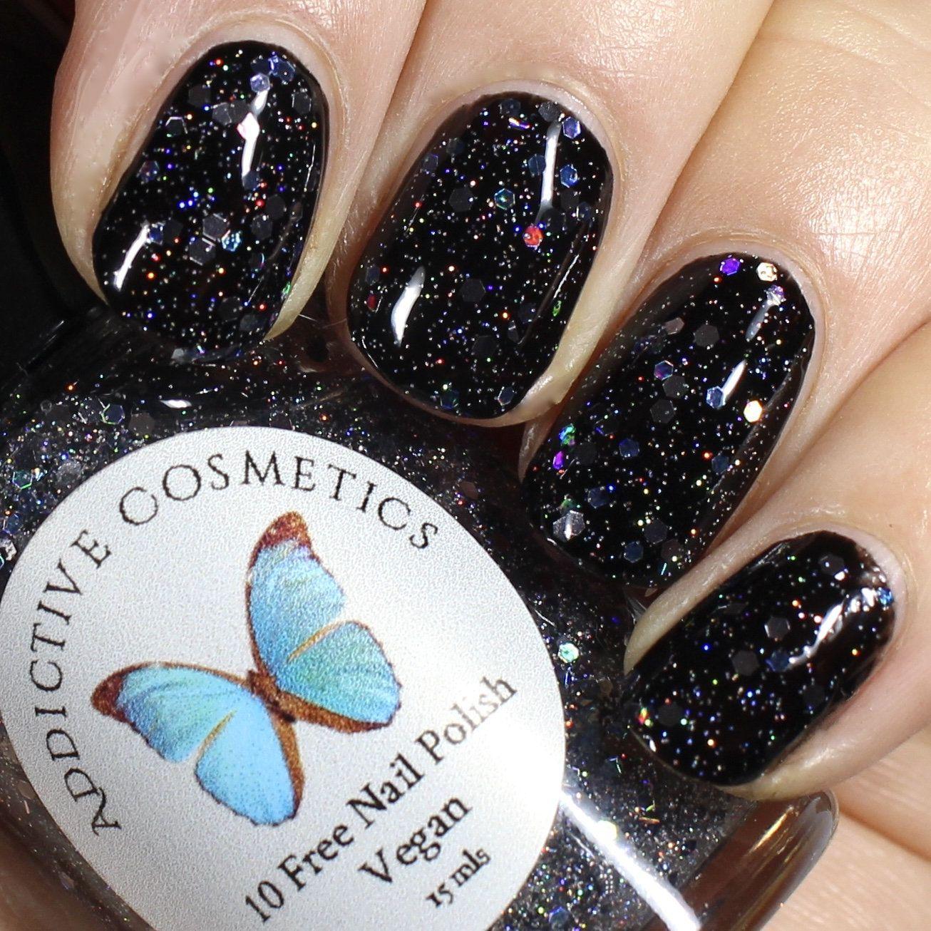New 10 Free Glitter Nail Polish Its A Rave Vegan Friendly Cruelty Free Nail Polish Nail Designs Glitter Nail Polish