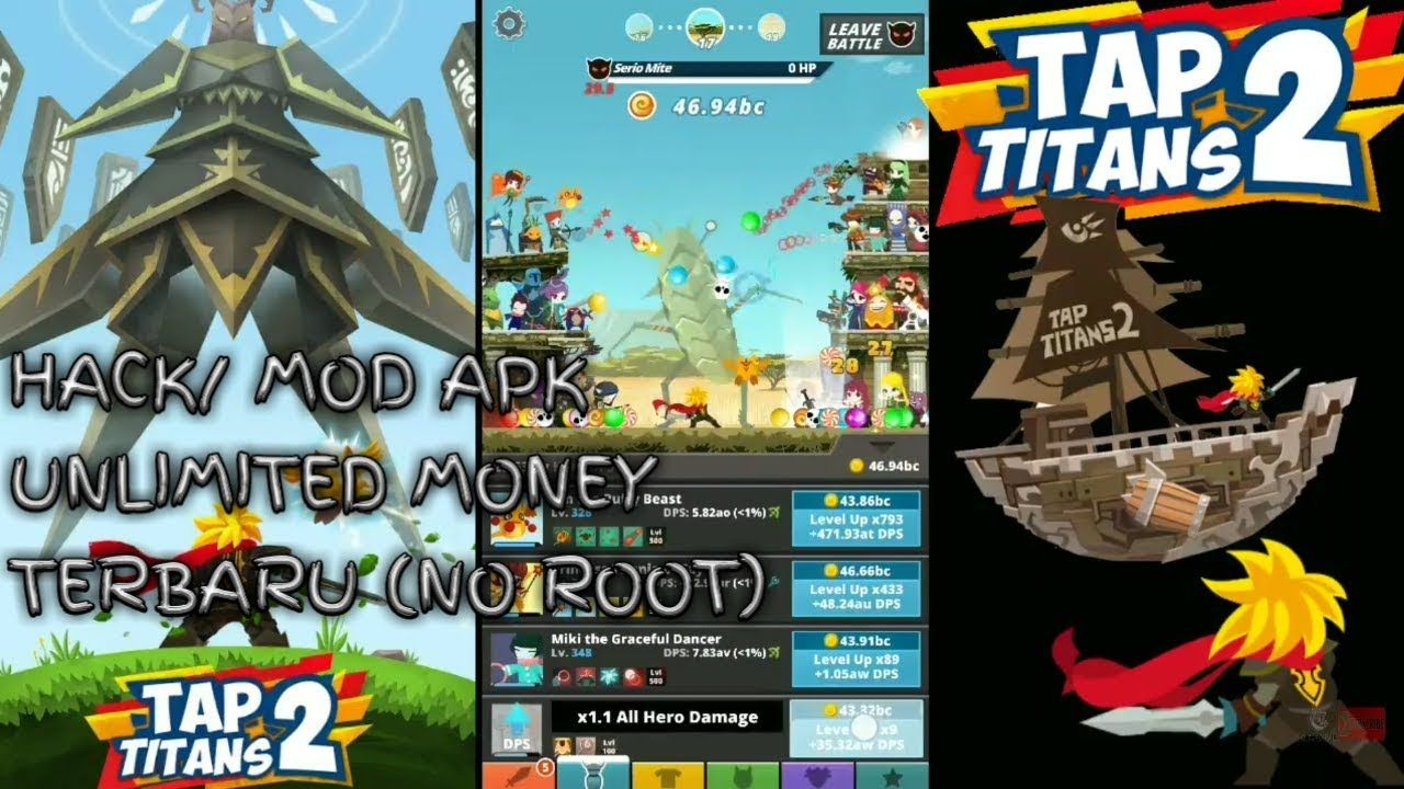 Tap Titans 2 v2 7 6 Mod APK For Android | Andriod Games/Apps