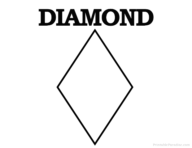Diamond Shapes, Diamond