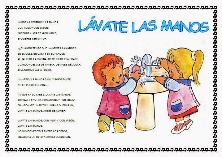 Cantores infantiles higiene poesias pinterest for Cancion jardin de rosas en ingles