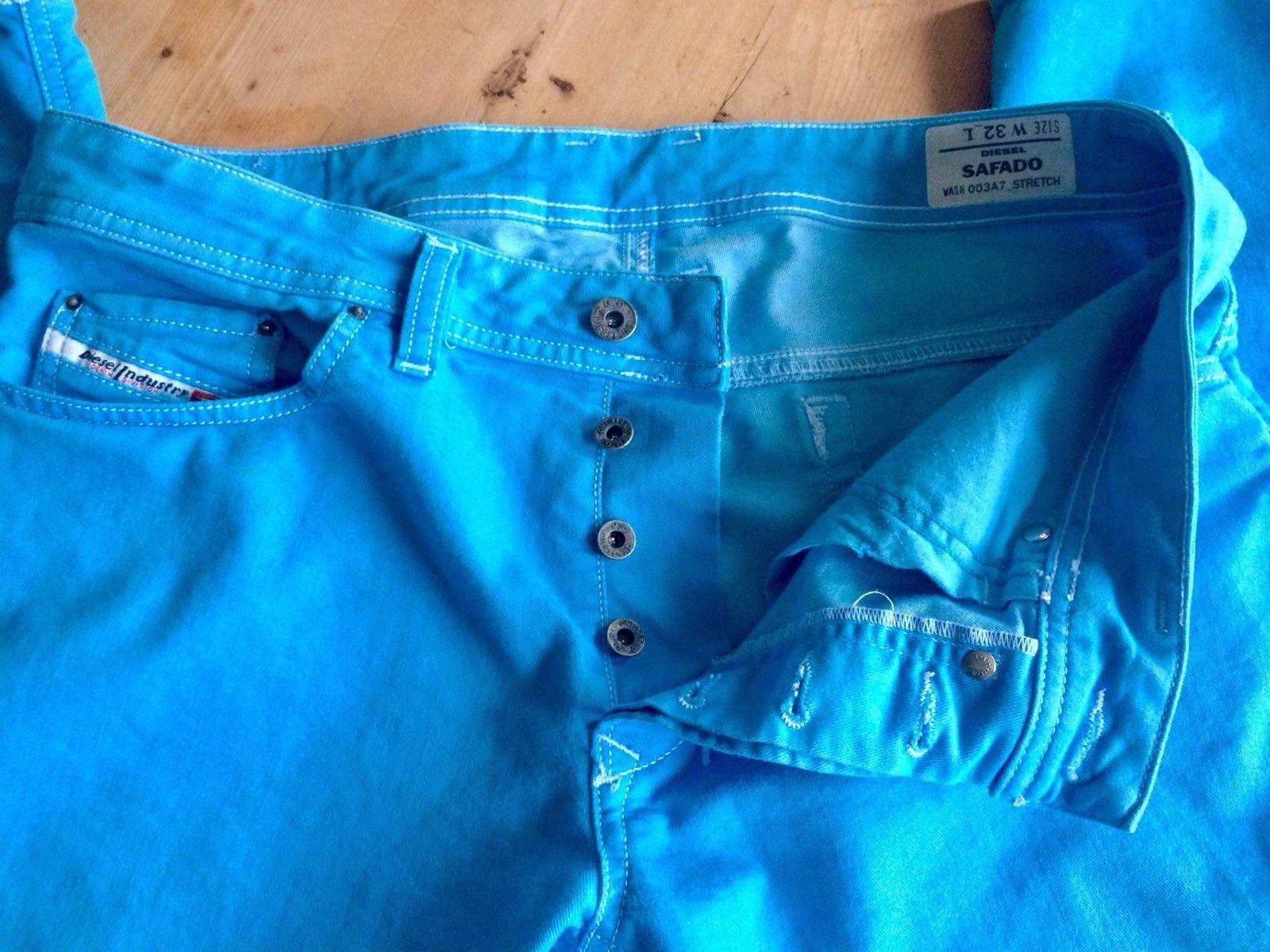 Authentic Diesel Safado Slim Straight Stretch Mens Jeans Sz 3132