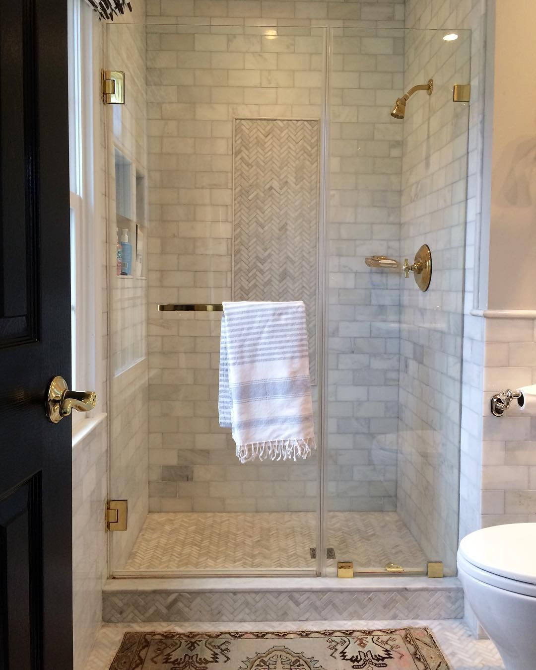 Planning the finishes in a client's master bath, and
