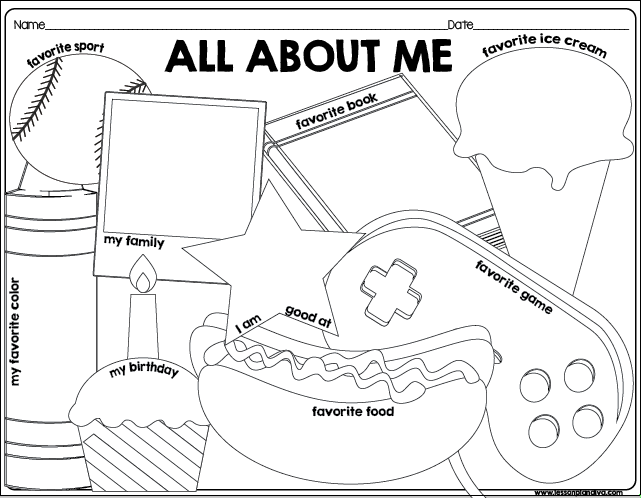 about me template for students - all about me educational blogs and blog posts