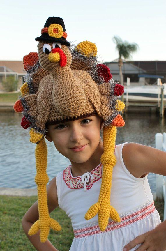 Thanksgiving Turkey Crochet Hat Pattern Pdf Crochet Pattern