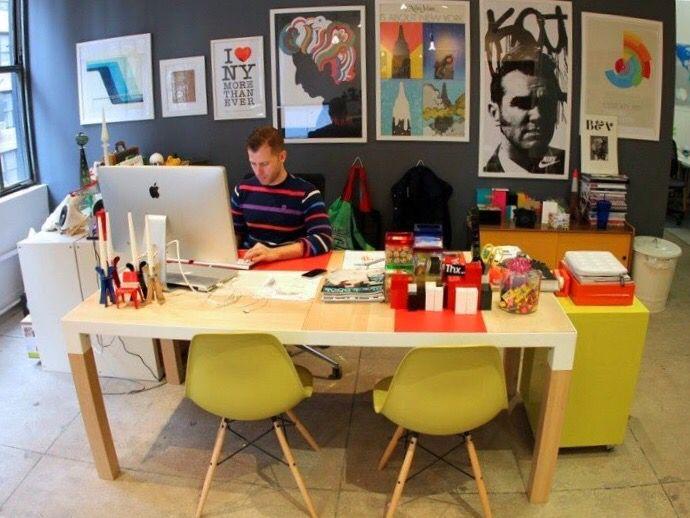 Office, Cadeira Eames DSW Amarela, Cor, Colorido, Colors, Escritório